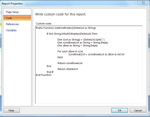 ReportCode